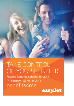 easyJet flexible benefits materials and TRS