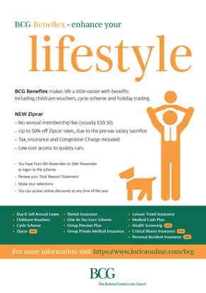 BCG flexible benefits materials