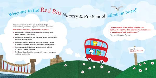 Red Bus Nursery & Pre-School - Our work - Ralph